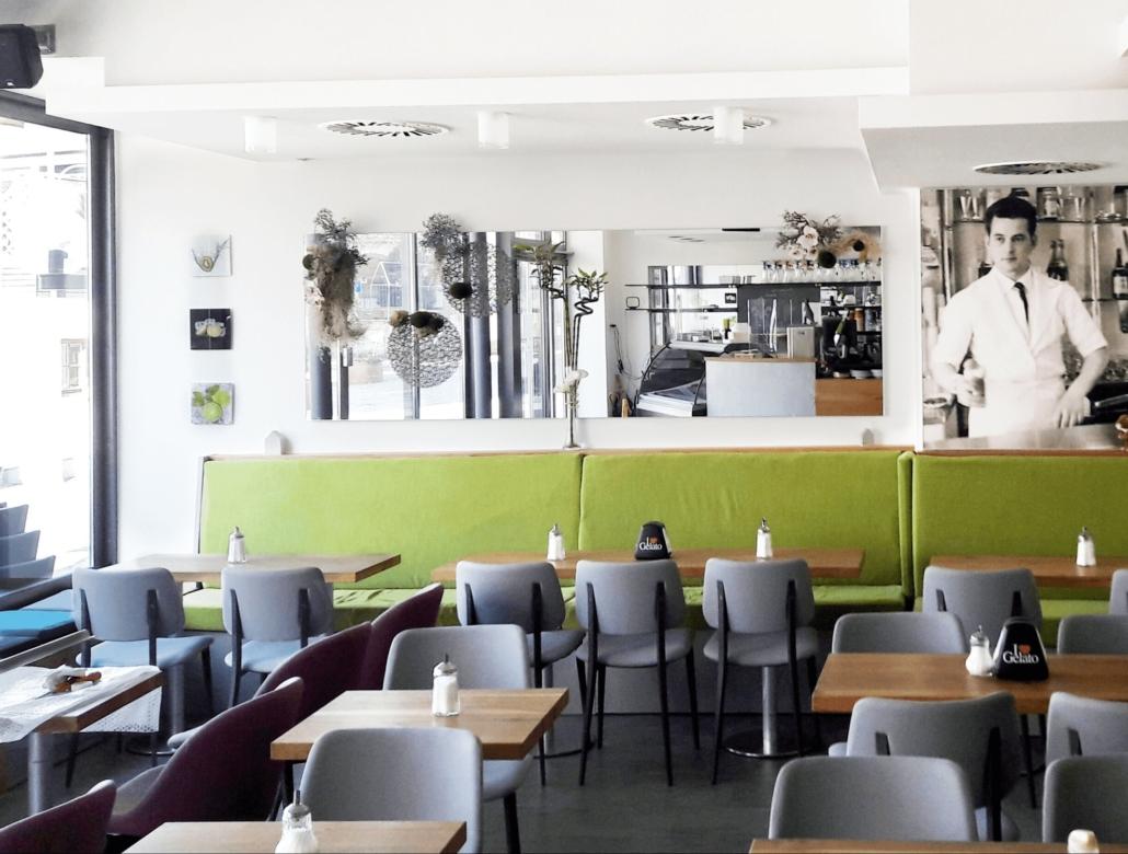 Eiscafé Seeheim Inneneinrichtung