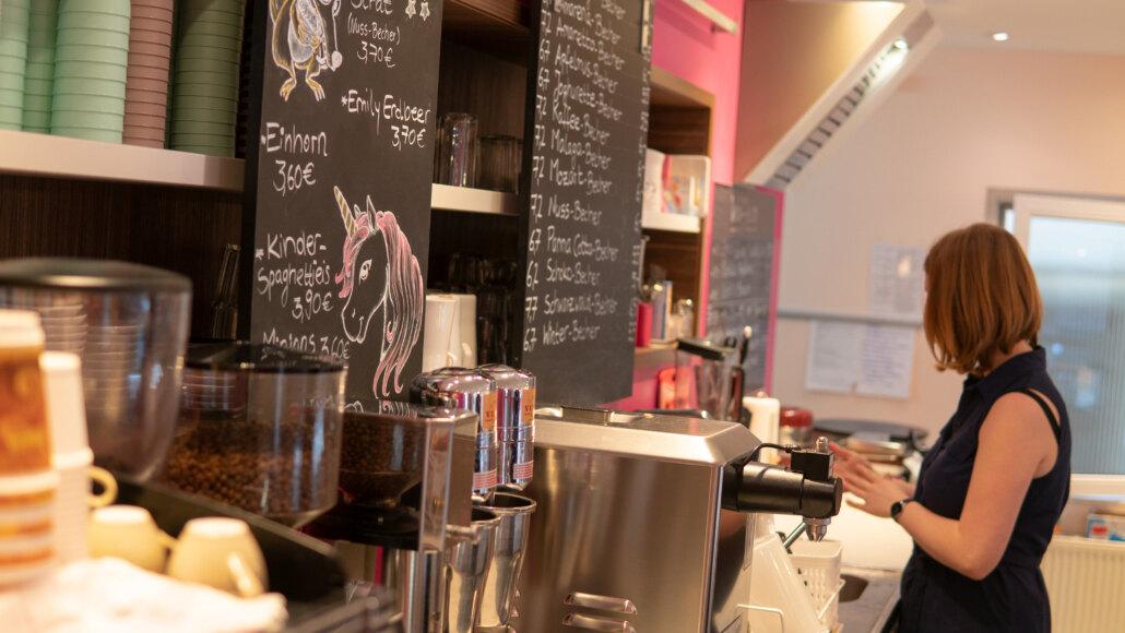 Eiscafé Jugenheim Innen